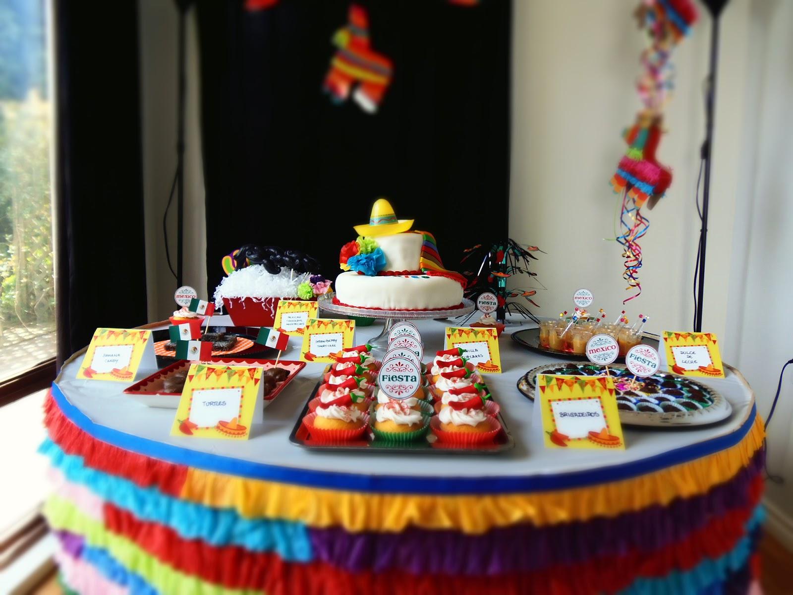 Dreams Factory Mexican Party Fiesta Mexicana