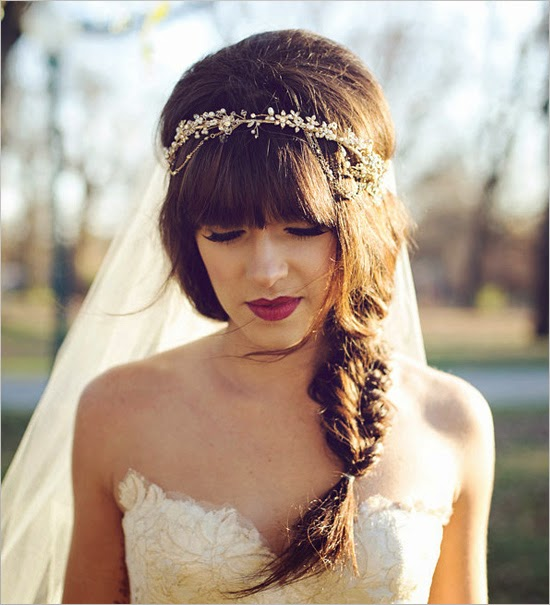 For Blonde Bridal Hairstyles Click Here