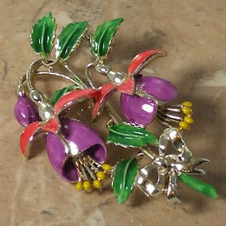 Large Fuchsia brooch by Exquisite