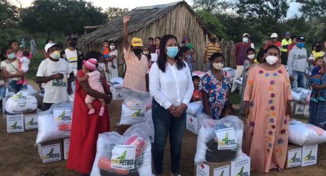 hoyennoticia.com, Ecopetrol entregó $1.300 millones en ayudas humanitarias damnificados de Manaure y Uribia