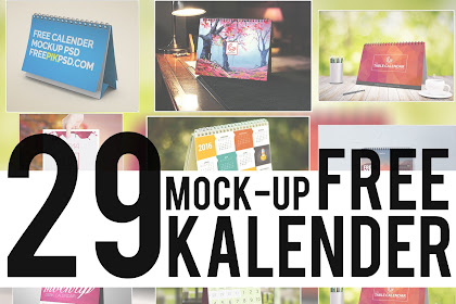 29 Mock Up Kalender Free! | Simple, Elegant, Cool