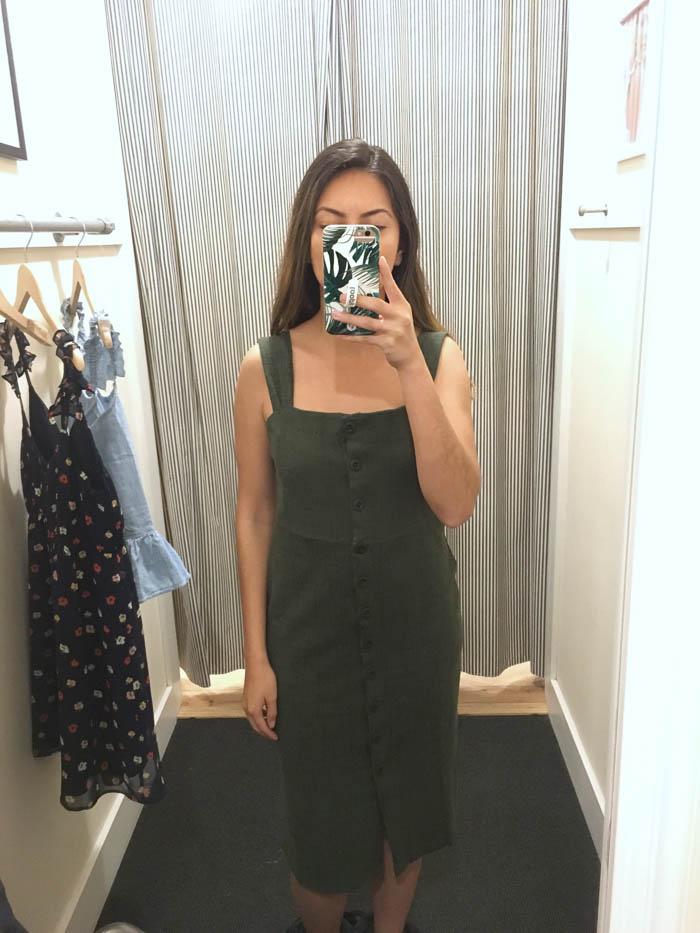 cute madewell dress