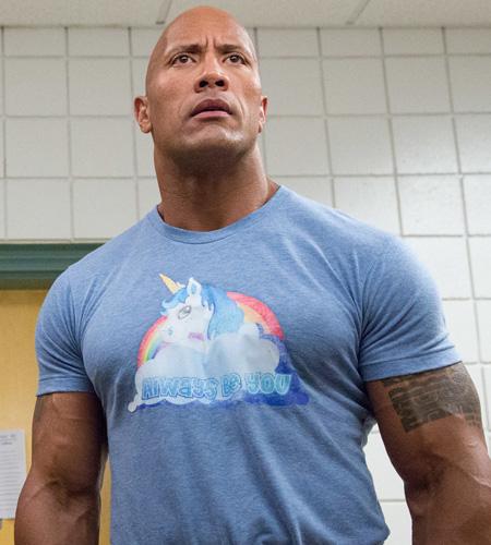 always be you camisa de dwayne johnson