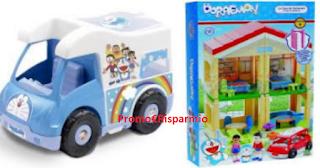 Logo Crea il tuo gadget e vinci gratis premi Doraemon