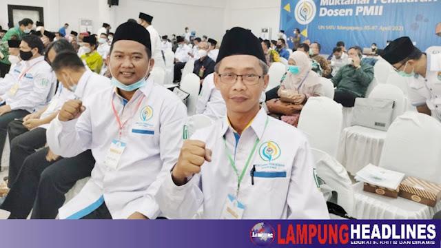 Dua Dosen STIT Pringsewu Jadi Pengurus Pusat ADP PB IKA PMII Periode 2021-2026