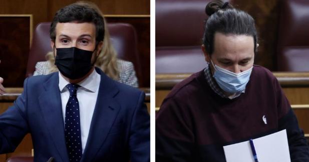"""Casado a Sánchez :""""Tres intentos de atacarnos con mociones de censura, tres fracasos políticos para usted"""""""