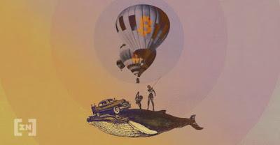 Baleia Bitcoin movimenta fortuna de criptomoeda de US $ 310 milhões - por apenas US $ 0,32