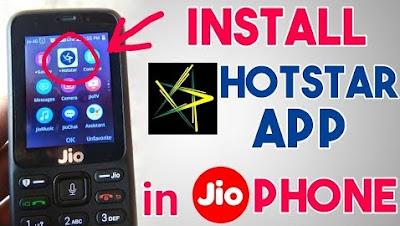 Disney+Hotstar for JioPhone