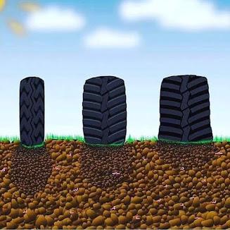 pneus compactação solo