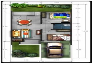 pondasi rumah minimalis type 45