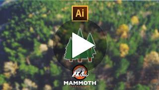 80% off Make flat design trees in Adobe Illustrator in 30 minutes!