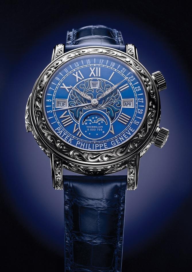 bef4bd60f6b Estação Cronográfica  Em primeira mão - relógio Patek Philippe Ref ...