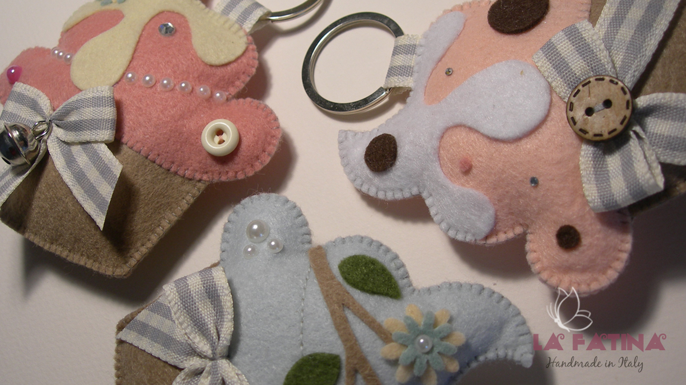 Portachiavi cupcakes for Siti di oggetti in regalo