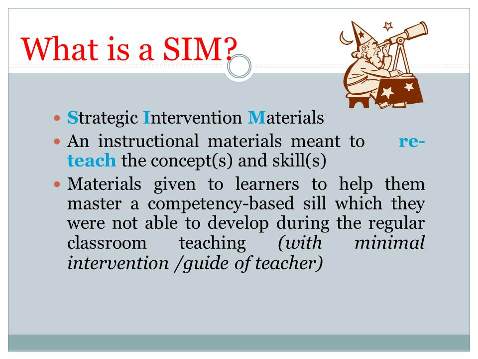 thesis about preparation of instructional materials Ci 149 curriculum, instruction, and technology in secondary classrooms use of research to inform decisions about instructional planning, pedagogical strategies.