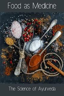 Medicine properties in food as ayurvedic medicines
