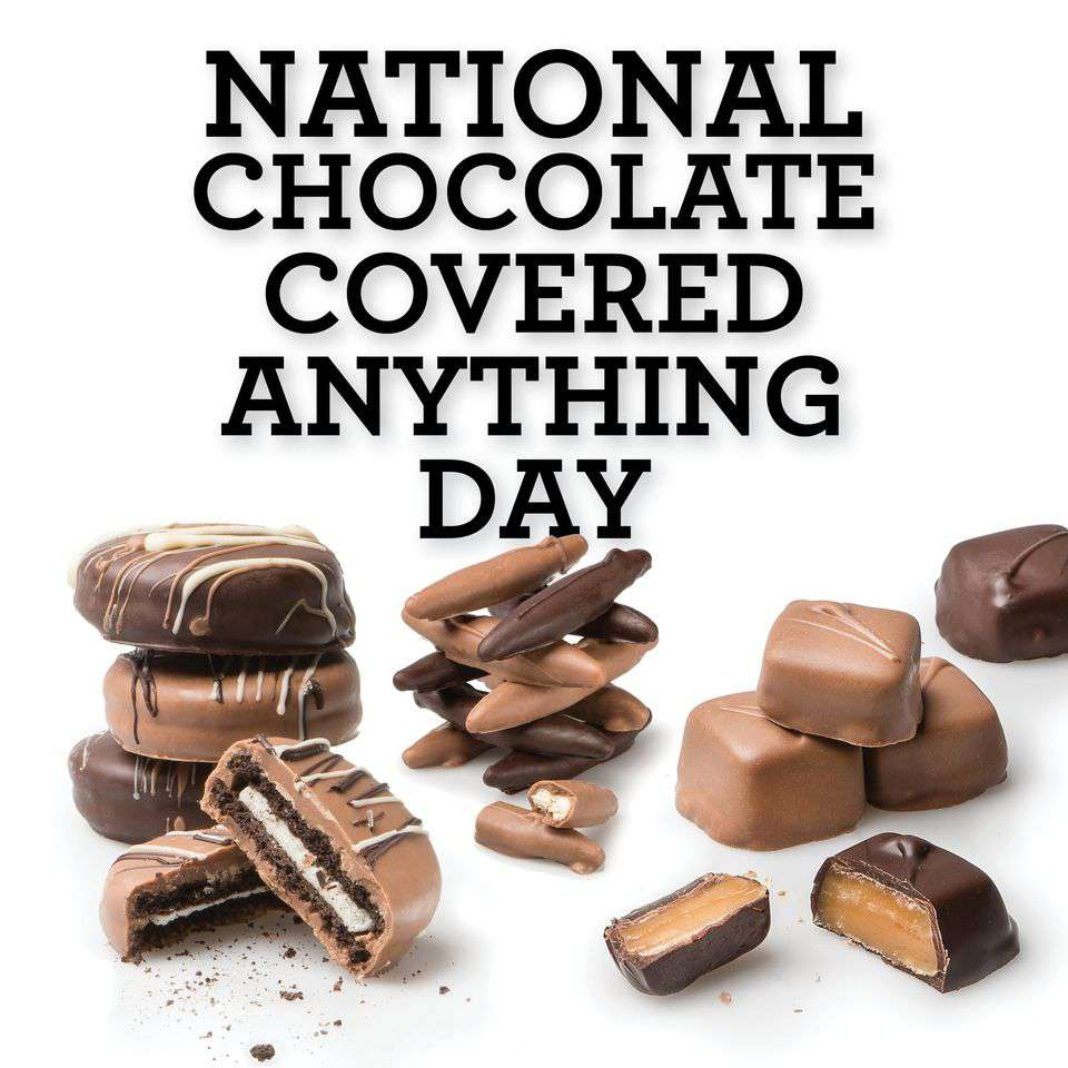 National Chocolate Covered Anything Day Wishes Lovely Pics
