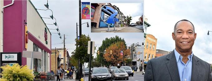 Dominicanos se oponen a rótulos en inglés en la principal calle de Allentown en Pensilvania