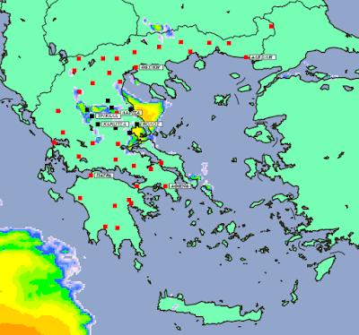 3 - Πρόγνωση Ελλάδας -Θεσσαλίας 11-13 Οκτωβρίου