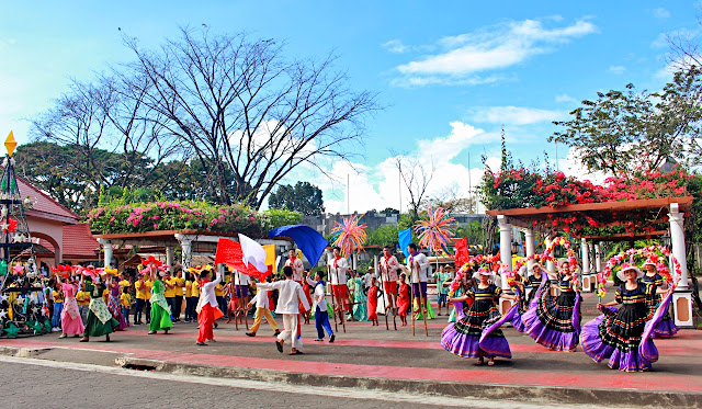 Cultural performers in Nayong Pilipino in Clark