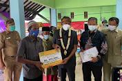 Bupati Sumenep Launching Penyaluran BLT-Desa 2021 di Desa Pinggir Papas