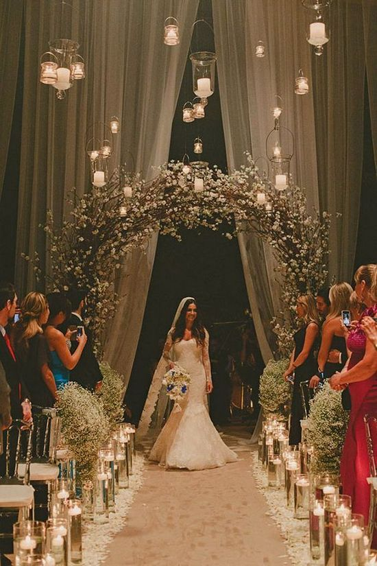 11 Unique Wedding Entrance Decoration Ideas For Your Romantic Moment