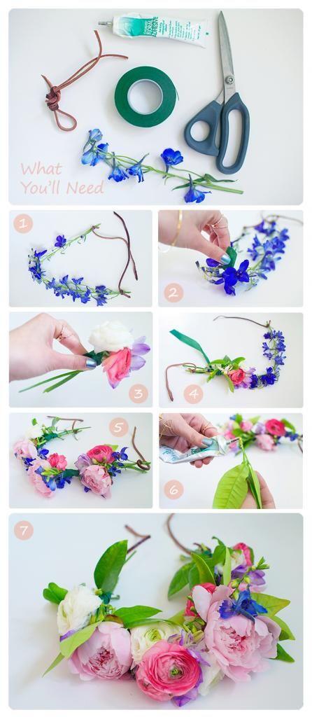 كيفية صناعة الورد