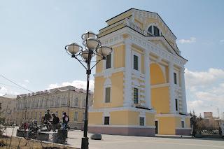 Московские ворота. Иркутск.