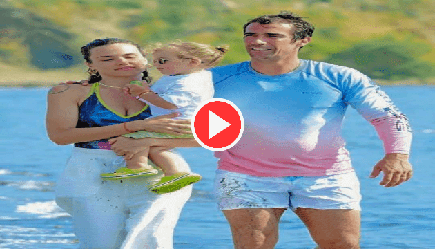 İbrahim çelikkol on holiday in marmaris with his family.