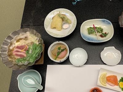 ホテル八田の夕食その2