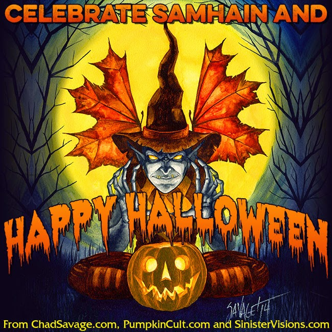 Celebrate Samhain and Happy Halloween!