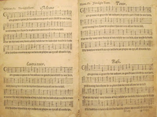 Tallis's canon from Archbishop Parker's Psalter