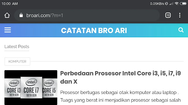 Mengganti Tampilan Chrome Android Dark Mode