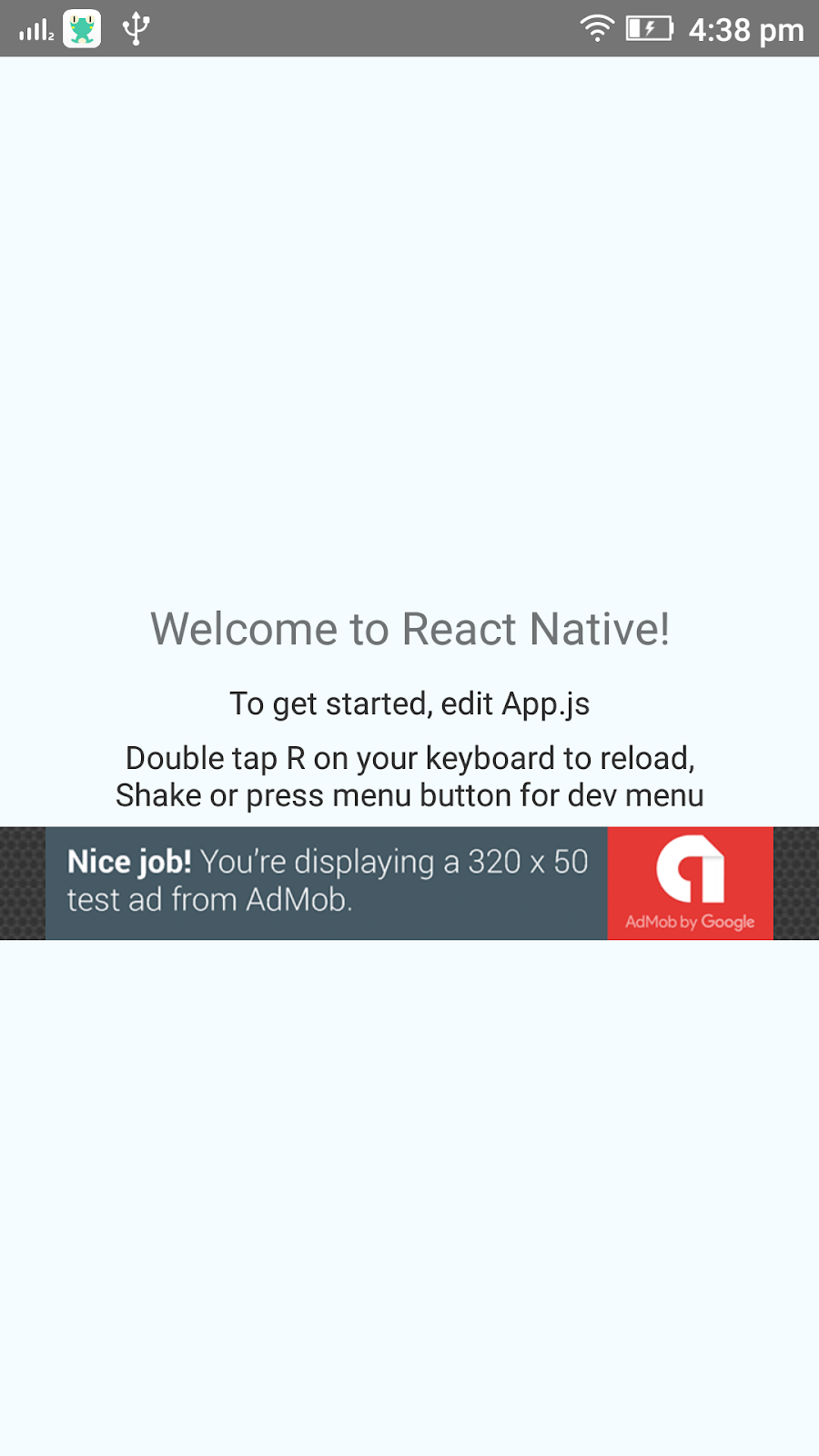 How to Create React Native App with Admob for Android