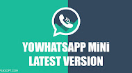 [UPDATE] Download YOWhatsApp MiNi v3.0 Latest Version Android