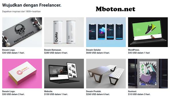 website freelancer job yang terbesar didunia. Anda bisa menemukan bermacam – macam proyek anda bisa mendaftarkan untuk menjual produk anda atau menyediakan jasa freelance job yang anda kuasai