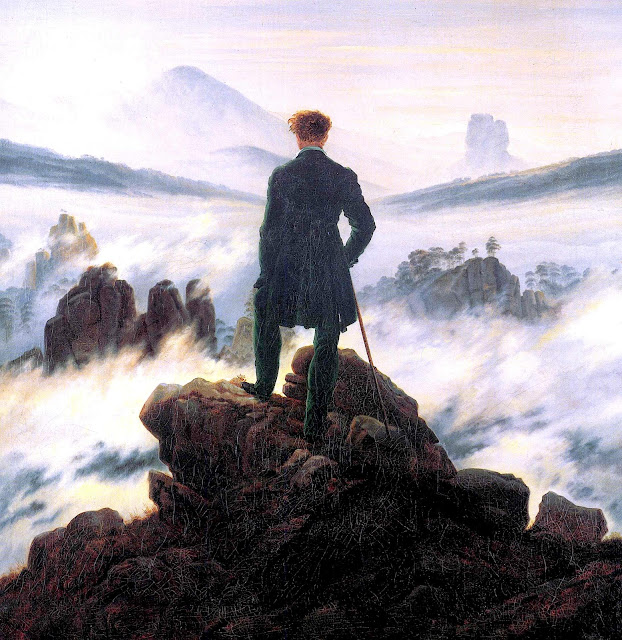 Caspar David Friedrich 1818 Wanderer above the Sea of Fog
