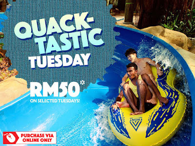 Sunway Lagoon Promotion RM50 Admission Ticket Tuesday