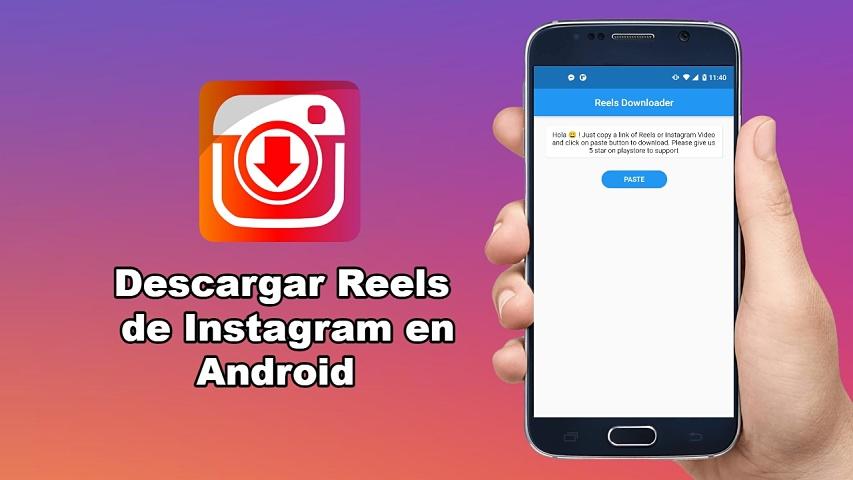 4 pasos para descargar Reels de Instagram en Android