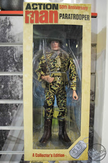 oy Fair 2017 Art + Science Action Man 50th Anniversary Action Figures