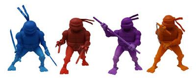 Teenage Mutant Ninja Turtles Stylized Monochromatic Vinyl Figures by Kidrobot