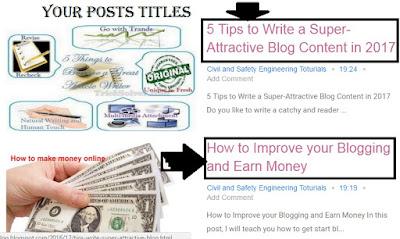 Change Blogger Post Title Color