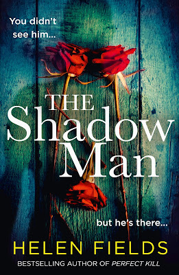The Shadow Man by Helen Fields book cover