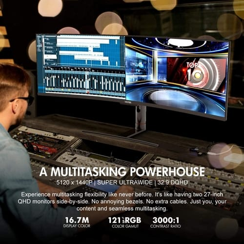 Review VIOTEK SUW49DA 49-Inch Super Ultrawide Monitor
