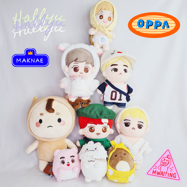 Exo doll Kpop doll Hallyu Korean Wave