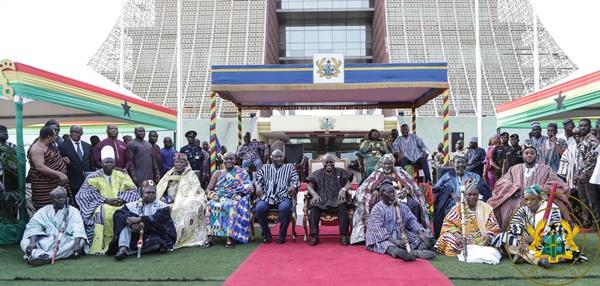 """Great Days Lie Ahead Of Dagbon"" – President Akufo-Addo To Yaa-Na"