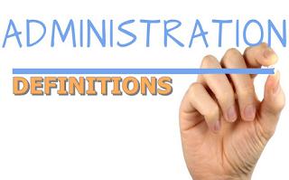 unsur unsur administrasi
