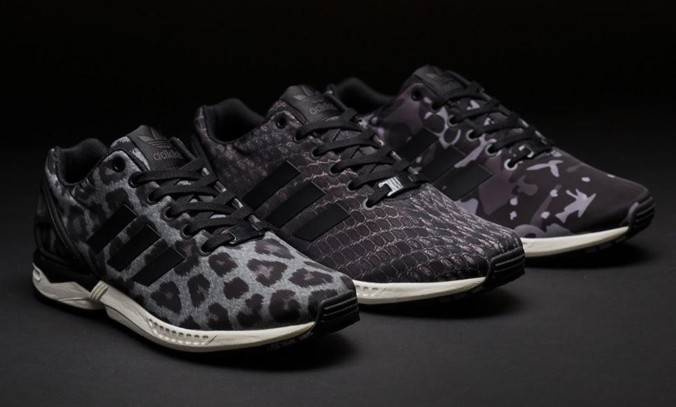 basket adidas femme zx flux leopard