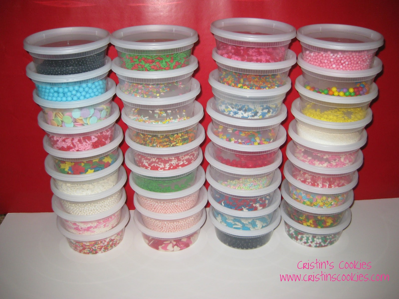 Decorative Cookie Containers Cristin 39s Cookies Cookie Cutters Storage