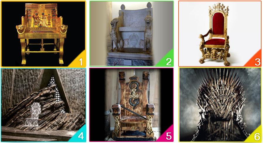 Test: Elige tu trono y descubre cómo iniciará el nuevo año
