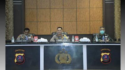 Polda Sumatera Utara Gelar Rapat Kesiapan Vaksinasi Massal